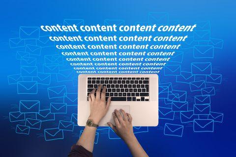 Top 5 des principaux contenus web demandés au rédacteur