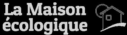 """Logo magazine """"La maison écologique"""""""