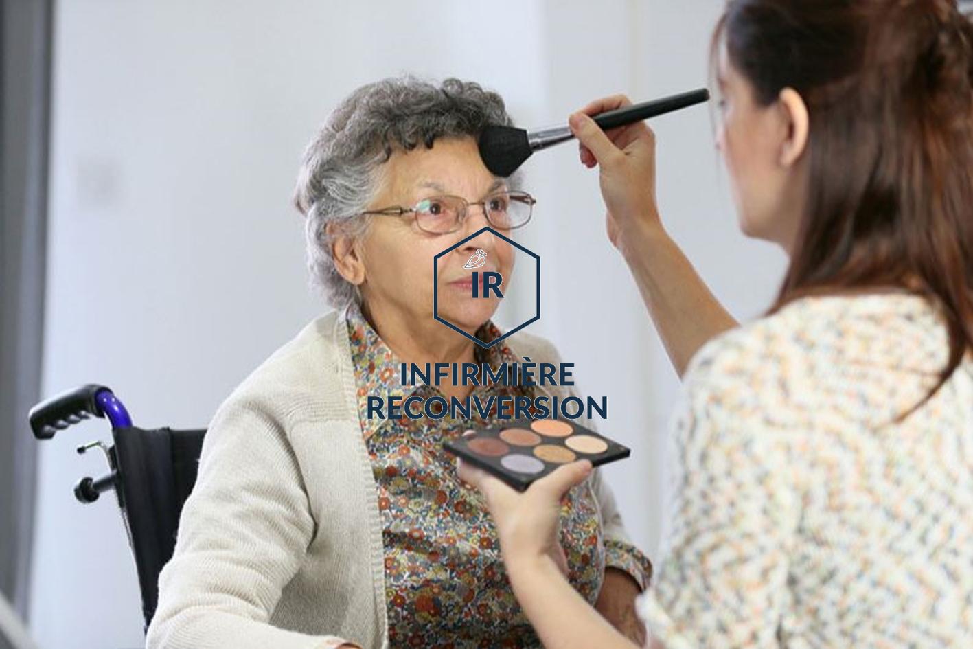 Reconversion : D'infirmière à socio-esthéticienne