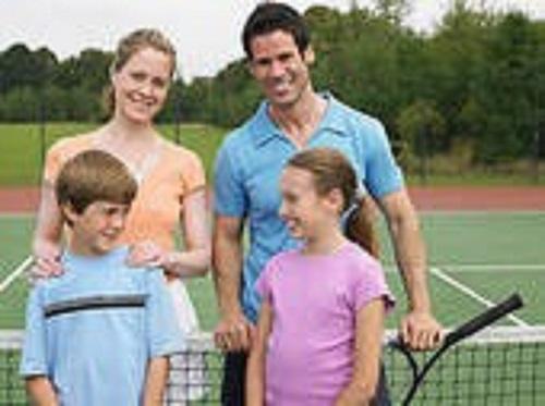 Tennis enfant/parent