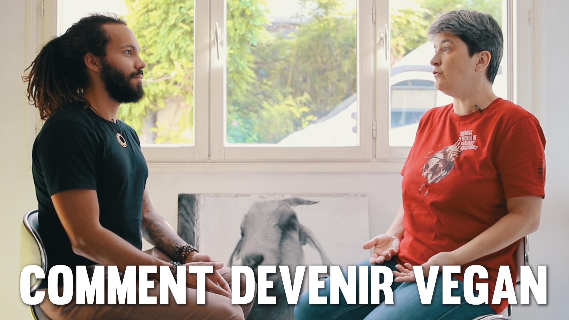 Comment devenir vegan (Interview de Brigitte Gothière de L214)