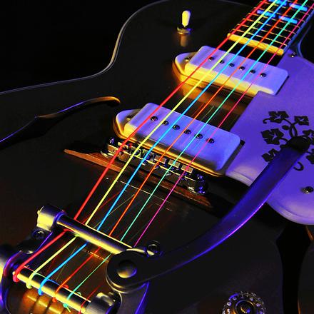 des Couleurs sur ma Guitare