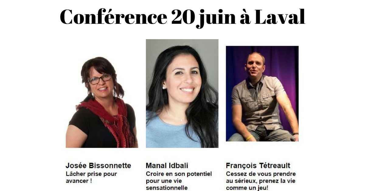 Josée Bissonnette, Manal Idbali et François Tétreault