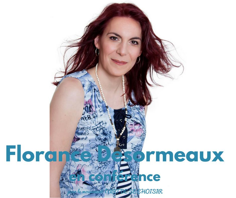Florance Desormeaux, le mouvement l'art de se choisir