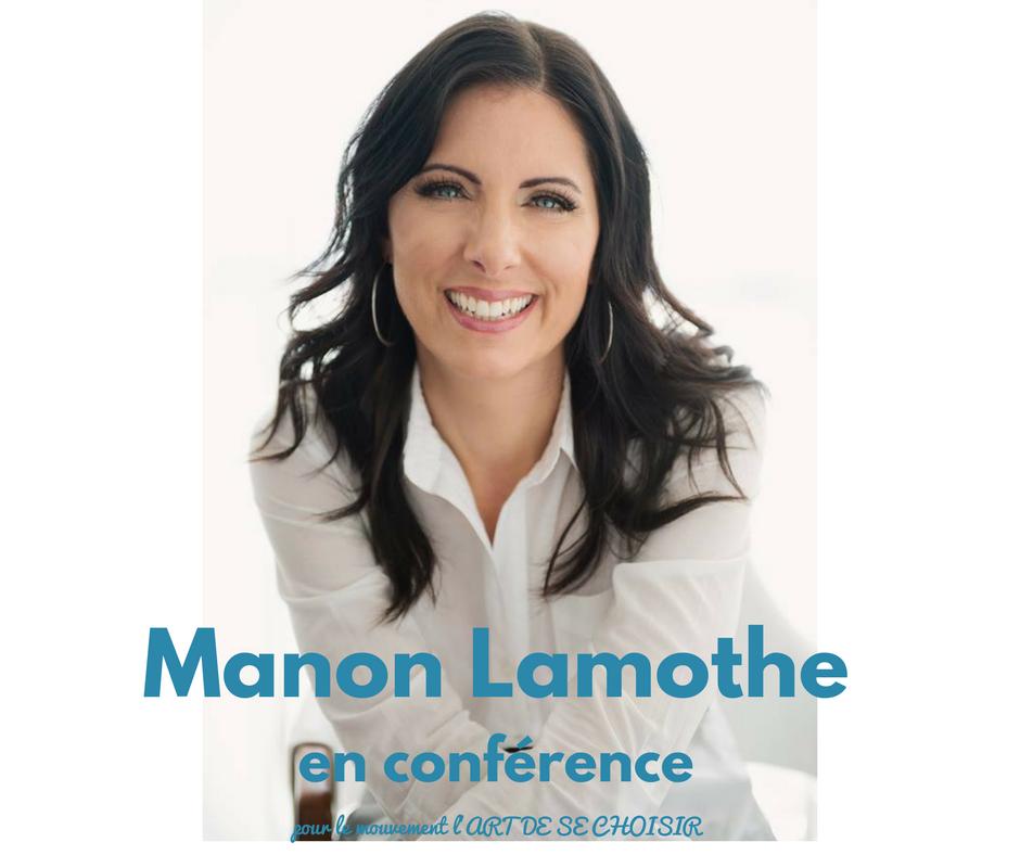 Manon Lamothe, le mouvement l'art de se choisir