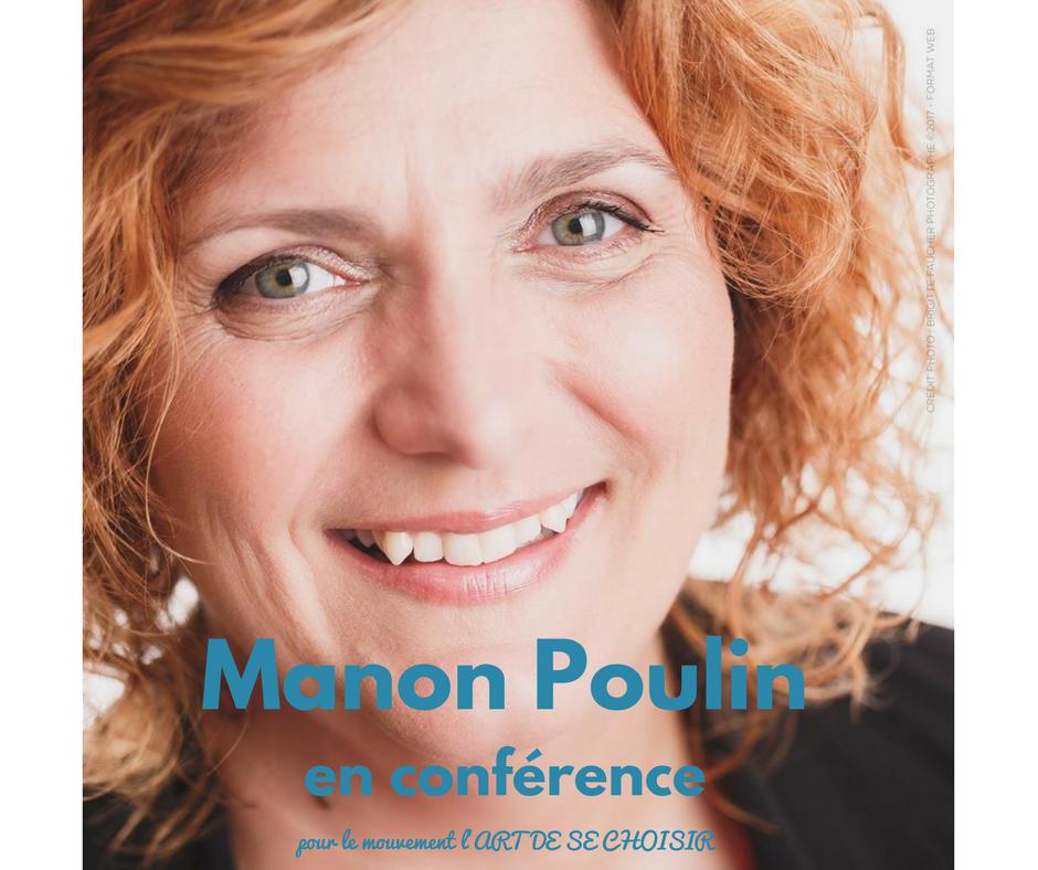 Manon Poulin, le mouvement l'art de se choisir