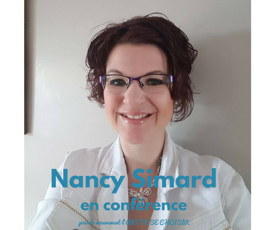 Nancy Simard, le mouvement l'art de se choisir