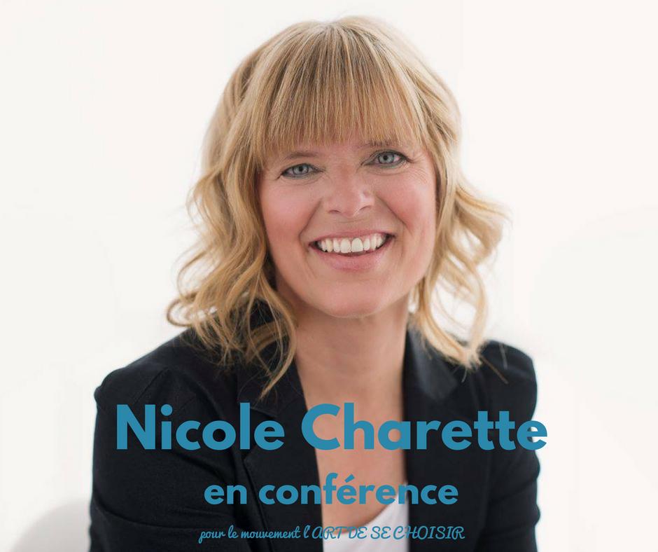 Nicole Charette, le mouvement l'art de se choisir