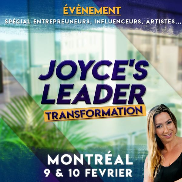 Joyce's Leader Transformation 5