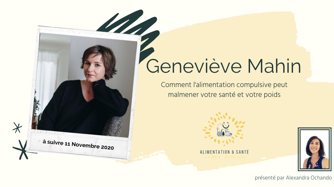 Geneviève MAHIN