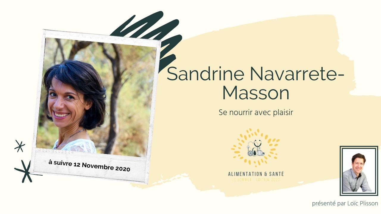 Sandrine NARVARRETE-MASSON
