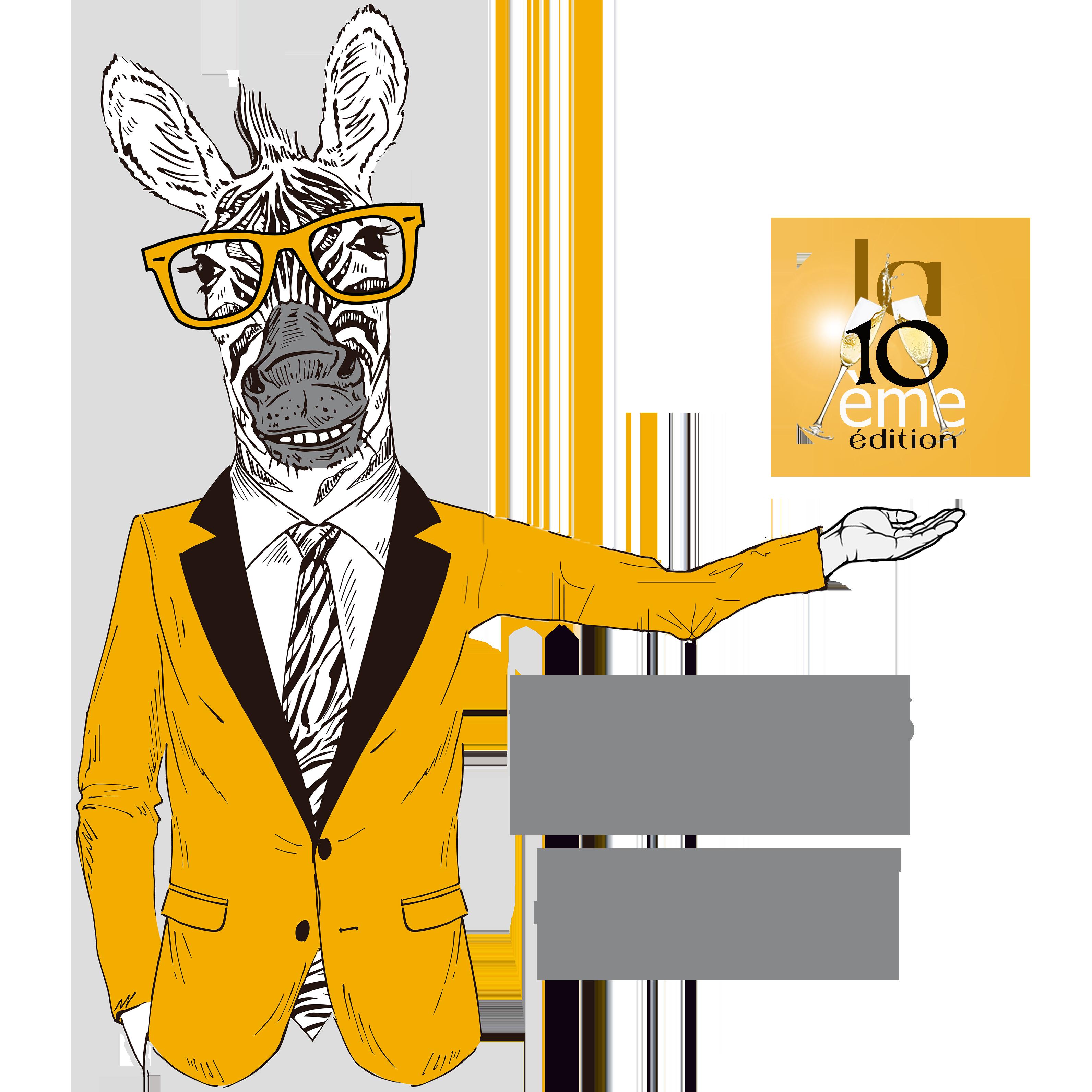 Charly le Zèbre | Votre majordome du Congrès Virtuel EFT