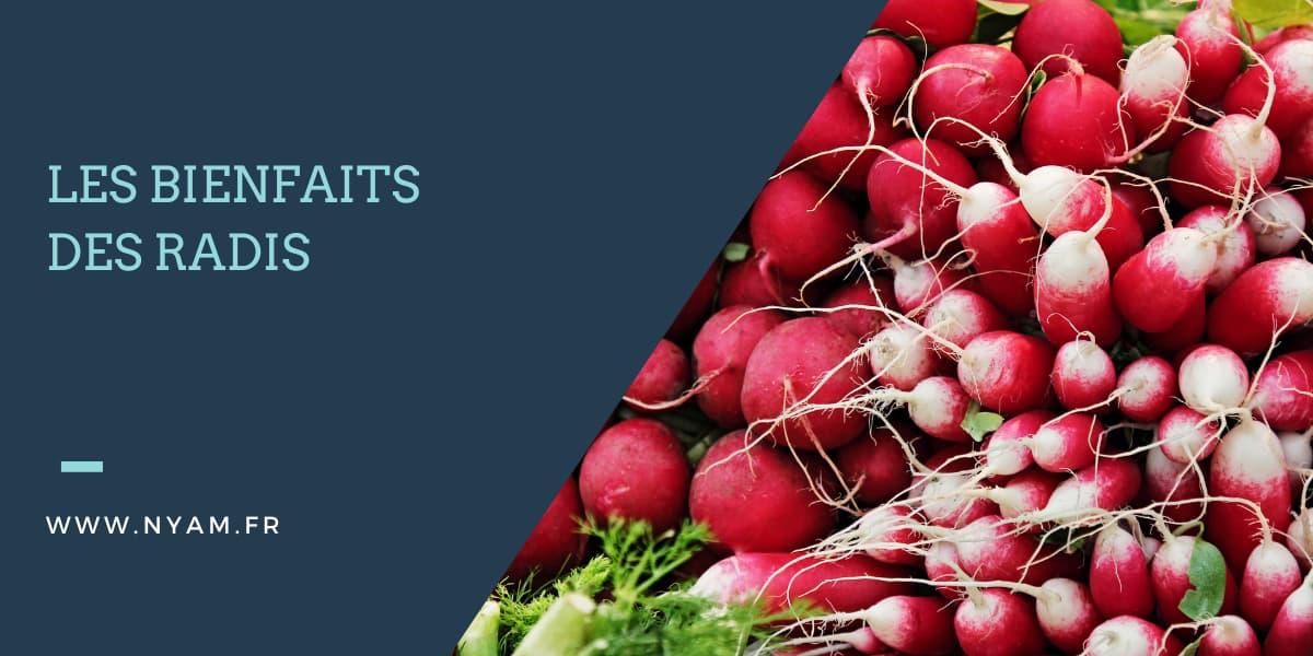 Les bienfaits des radis