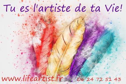 Session individuelle, Tu es l'Artiste de ta vie!