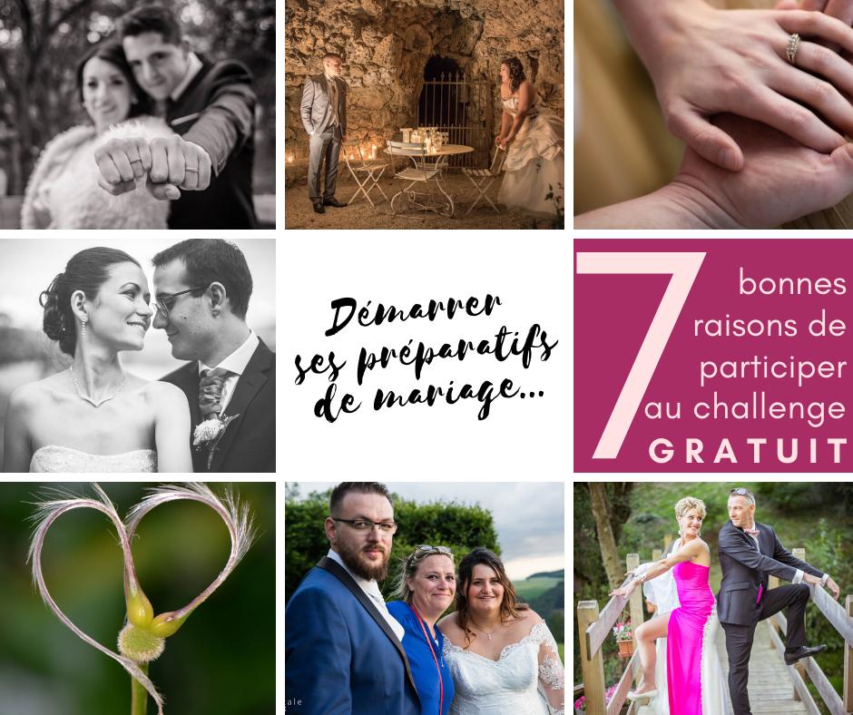 Bien démarrer ses préparatifs de mariage : 7 bonnes raisons de participer au challenge