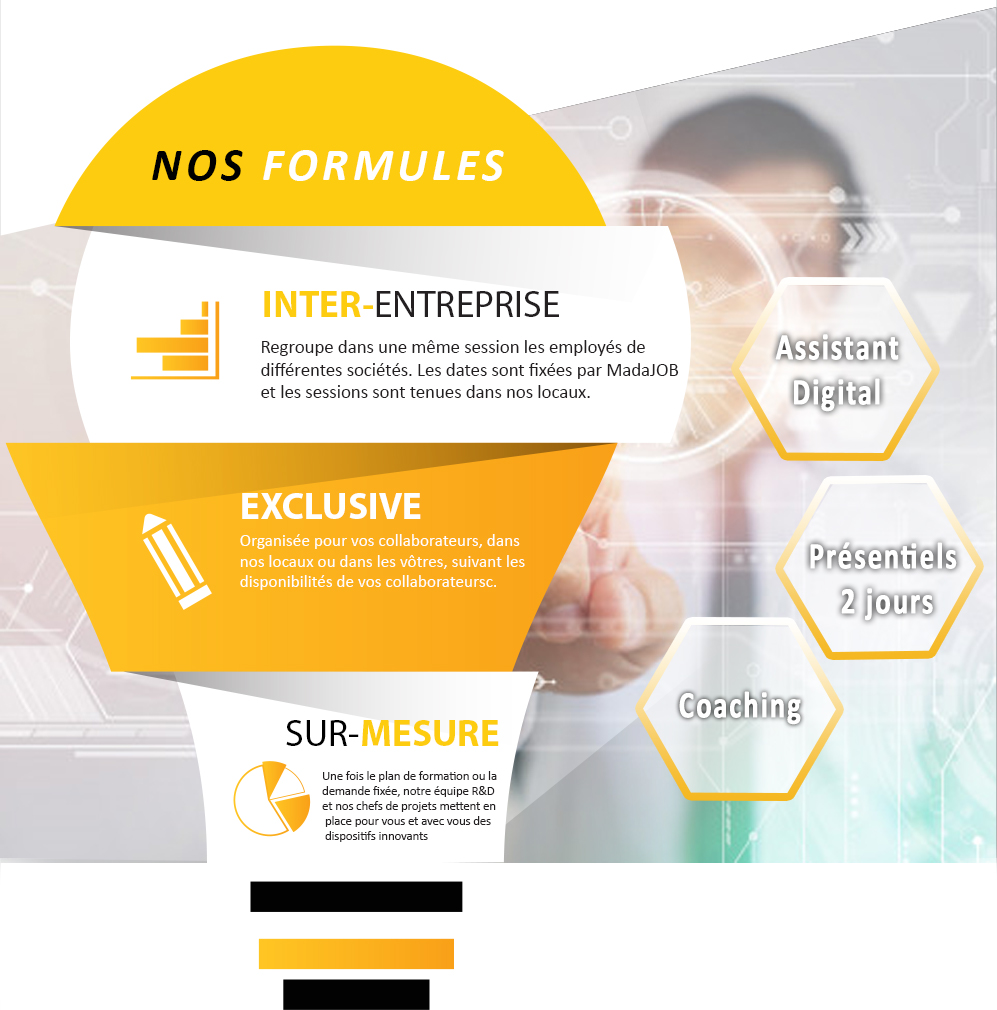 Le Blended learning avec MadaJOB