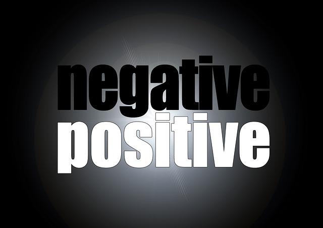 transformer le négatif en positif
