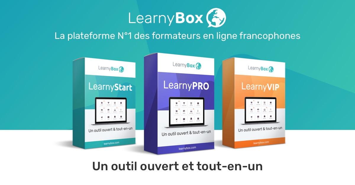 learnybox est un outil qui vous permettra d'héberger vos formation, faire des webinars et bien plus.