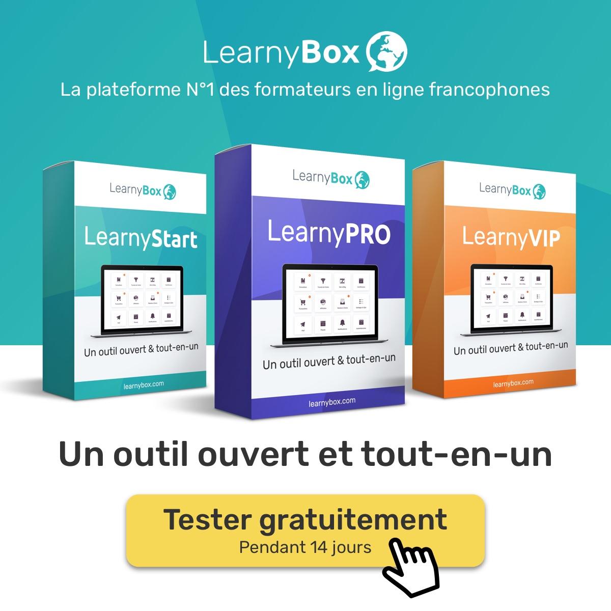 Plateforme Learnybox