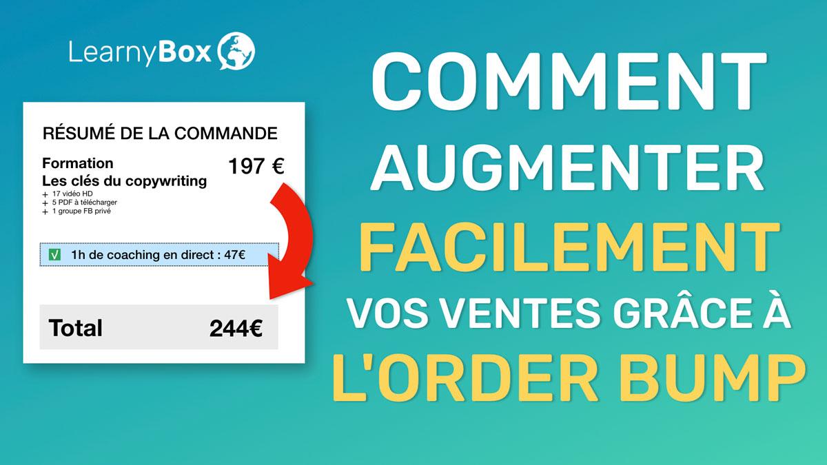 Comment augmenter facilement vos ventes avec LearnyBox grâce à l'Order Bump ?