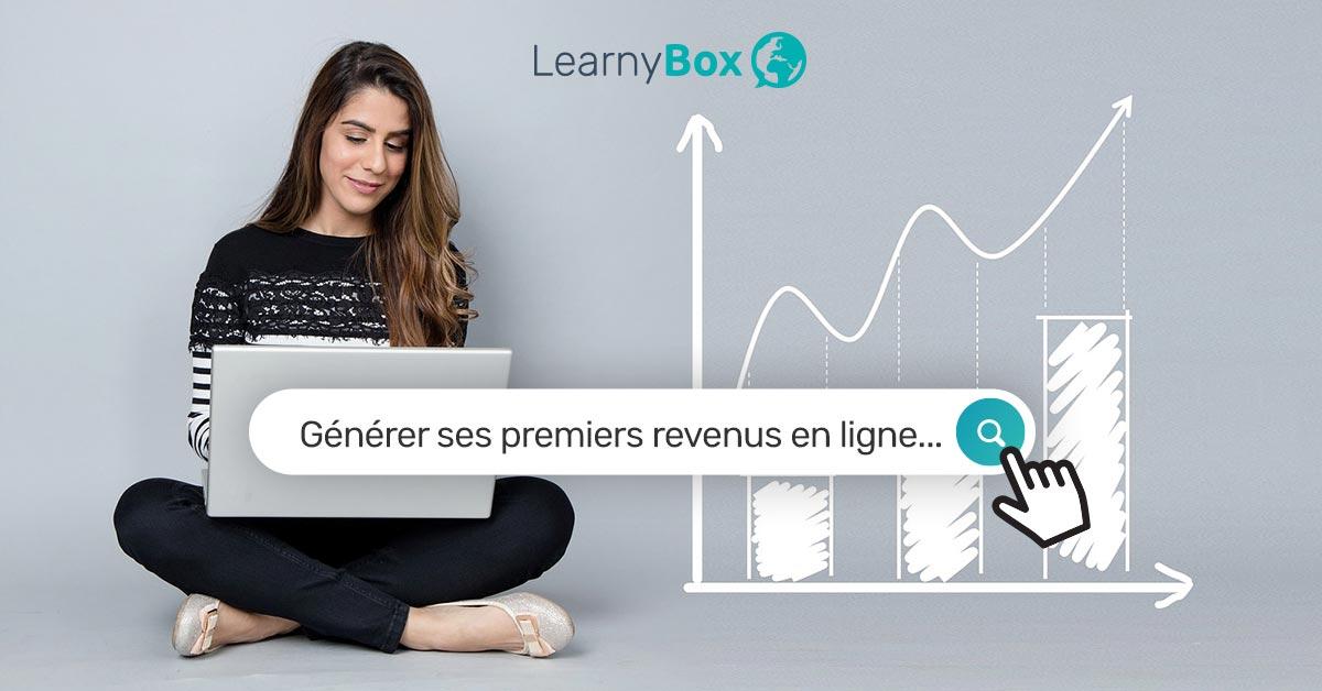 Comment générer ses premiers revenus avec LearnyBox