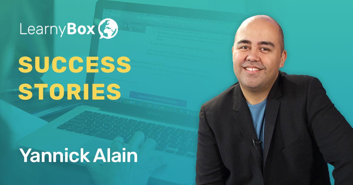 Yannick Alain : En 15 jours tu peux faire ton produit et commencer à vendre !