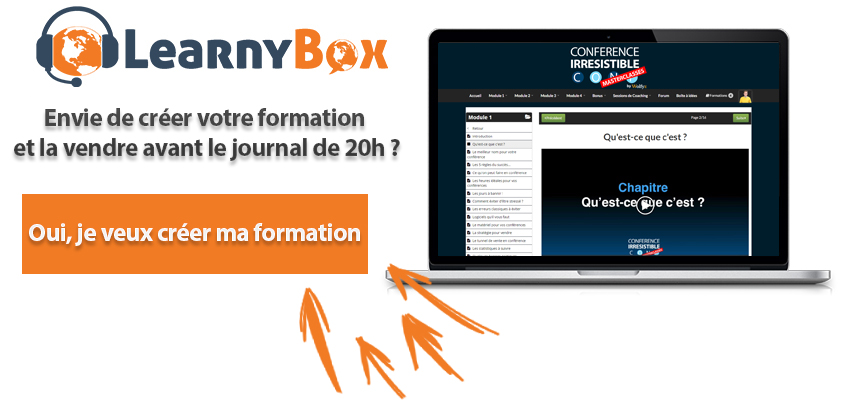 Créer formation LearnyBox