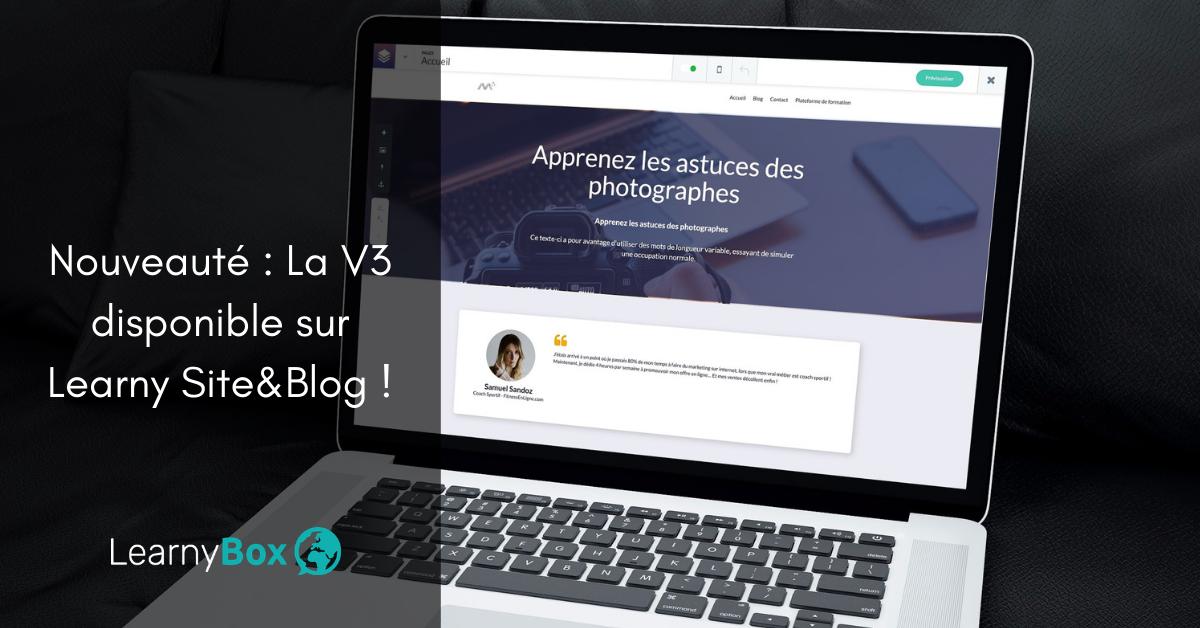 Nouveauté : Découvrez nos nouveaux modèles de blog et sites