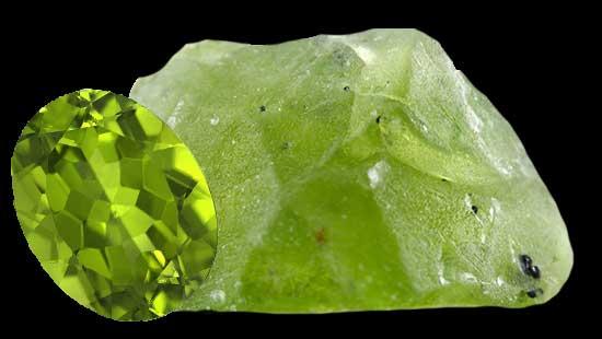 olivine péridot