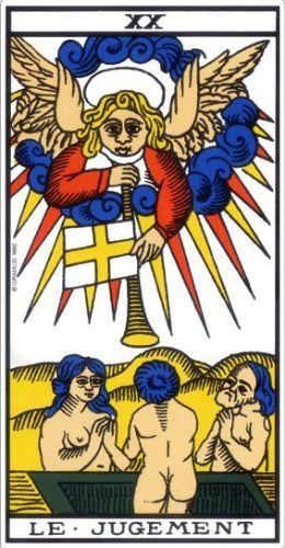 Le Tarot de Marseille carte 21 le Monde