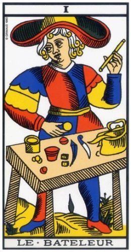 Le Tarot de Marseille carte 1 le Bateleur