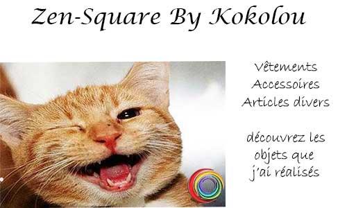 Zen square bykokolou - la boutique du site