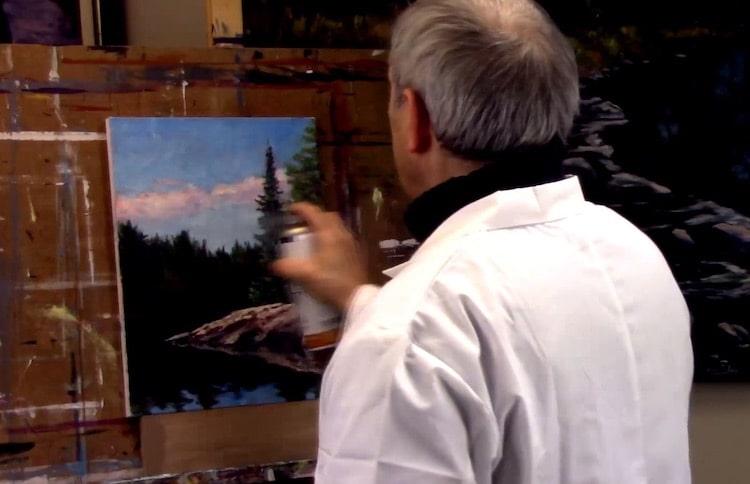Doit-on vernir une peinture à l'huile ?