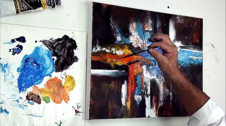 4 conseils pour bien débuter en peinture abstraite