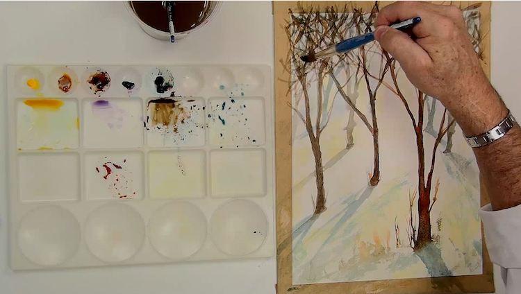 Apprendre l'aquarelle - Conseils pour débutants