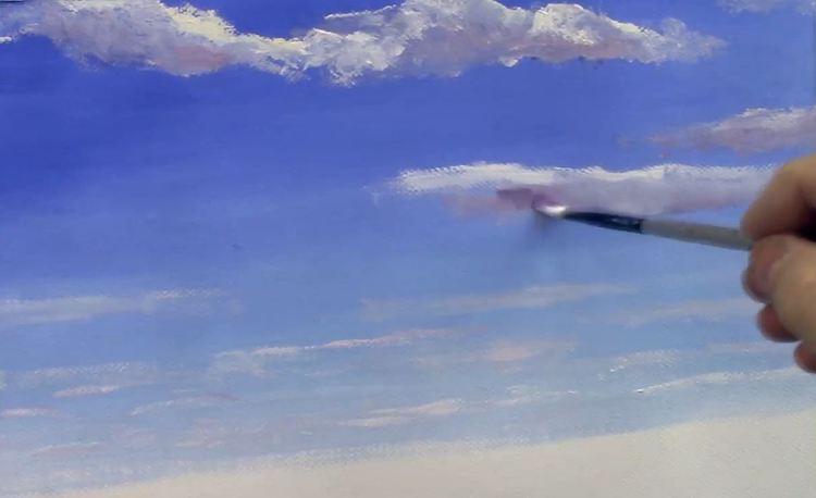 Comment peindre les nuages ?
