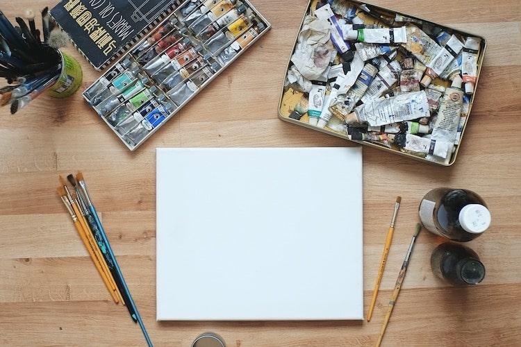 Le kit indispensable pour bien débuter en peinture : tout le matériel nécessaire
