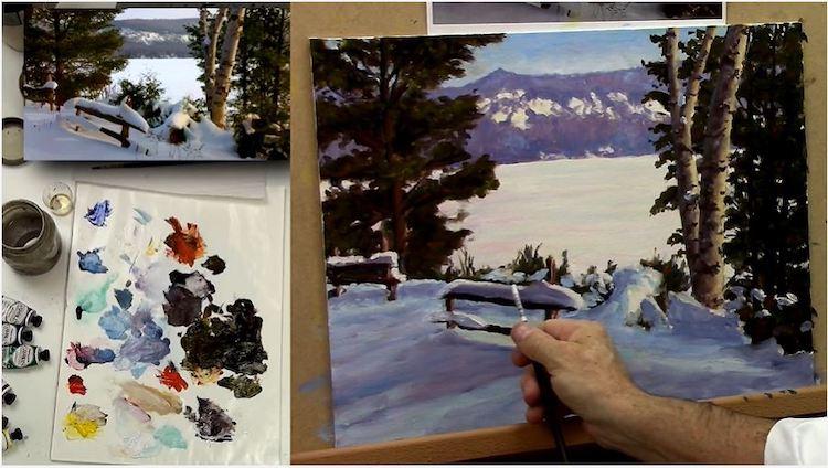 Comment peindre les ombres