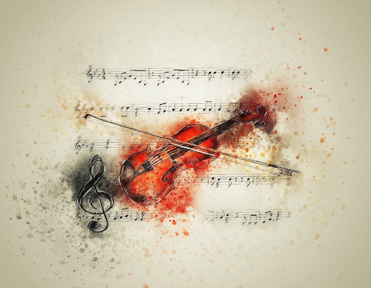 Trouver l'inspiration, quand la musique inspire le peintre
