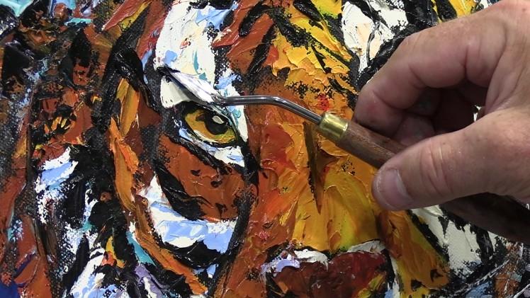 5 techniques faciles pour peindre au couteau