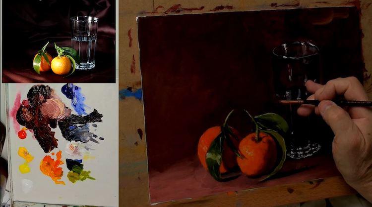 Comment peindre des objets en verre ?