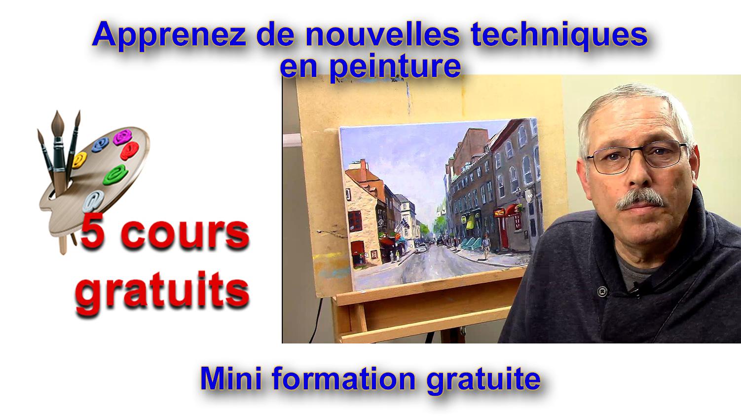 Cours de peinture en vidéo gratuit