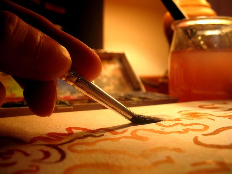 Comment s'occuper pendant le confinement, quand on aime la peinture ?