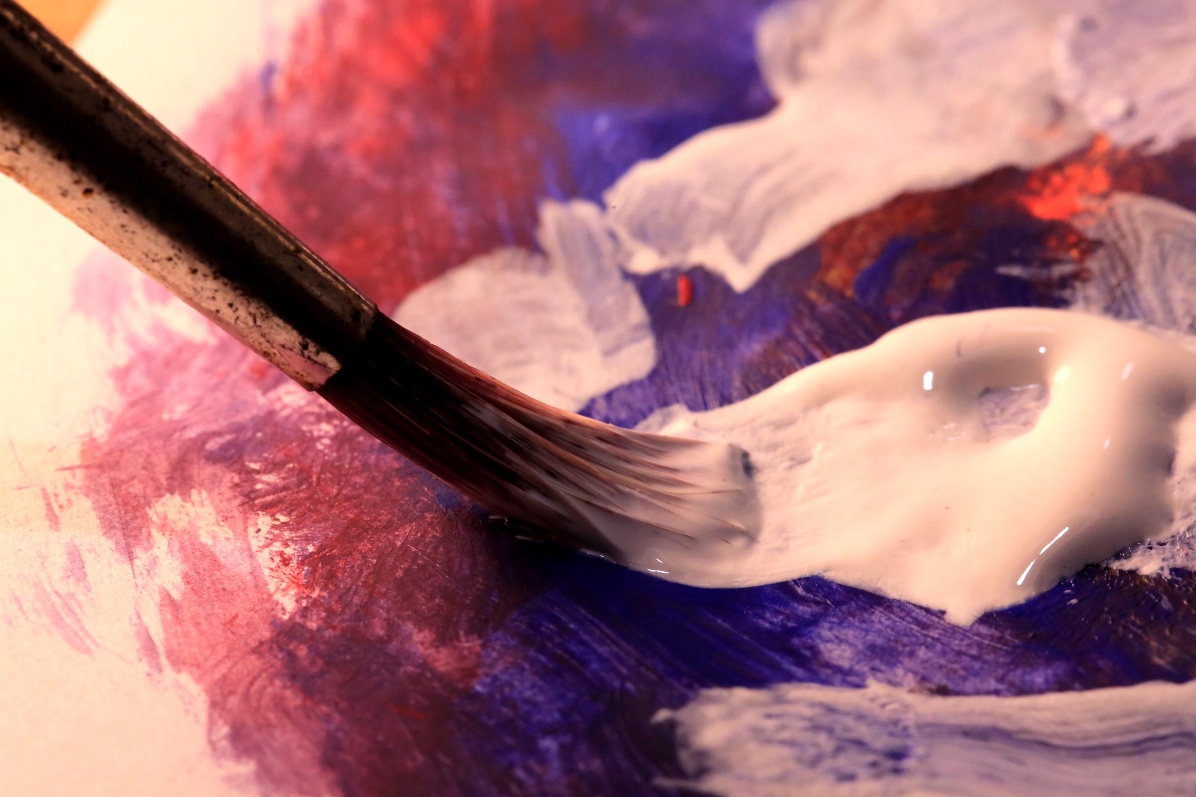 La peinture acrylique pour les débutants