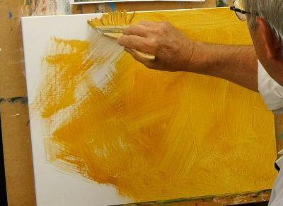 Comment bien préparer sa toile avant de peindre