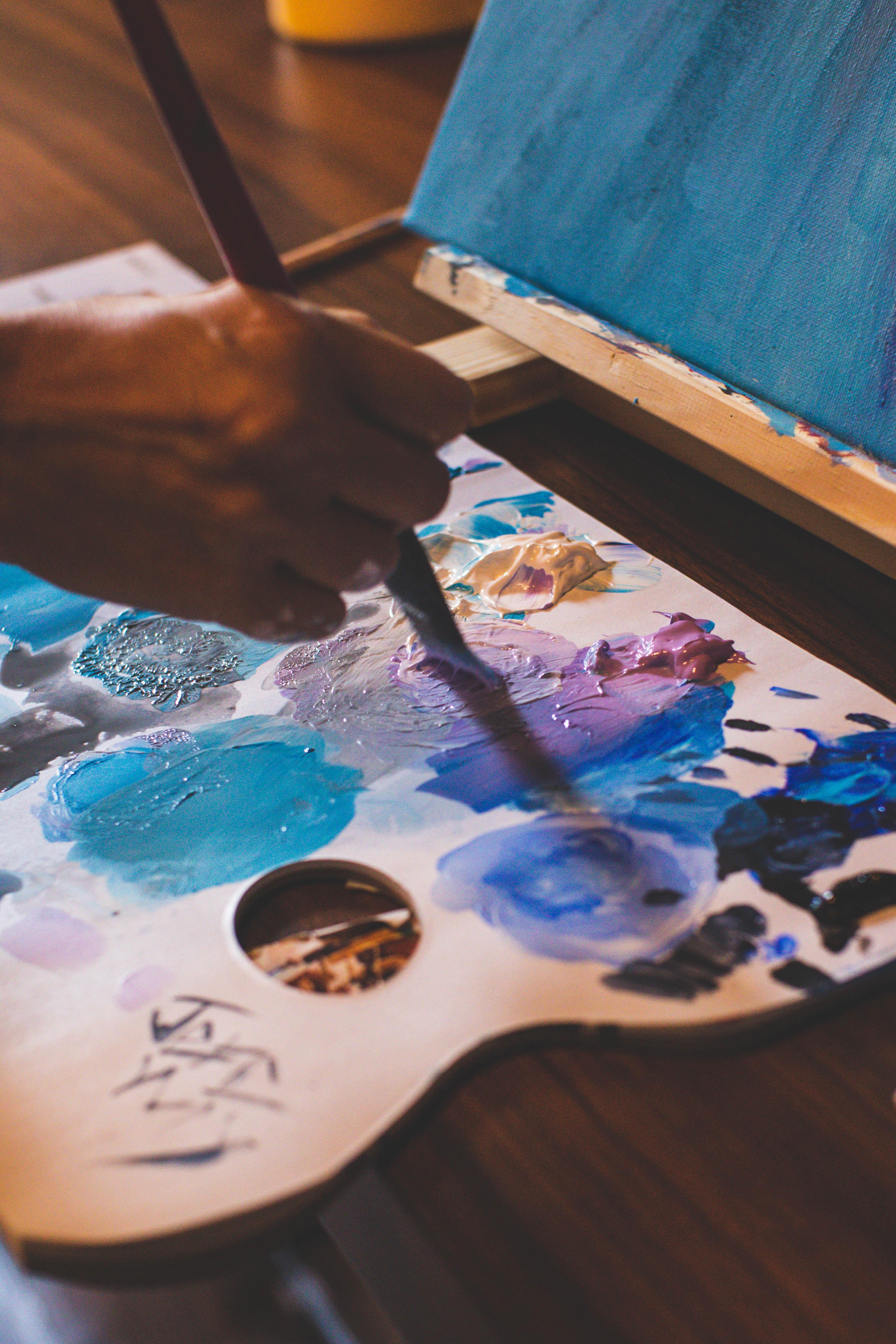 6 astuces pour ne plus jamais manquer d'inspiration pour vos peintures