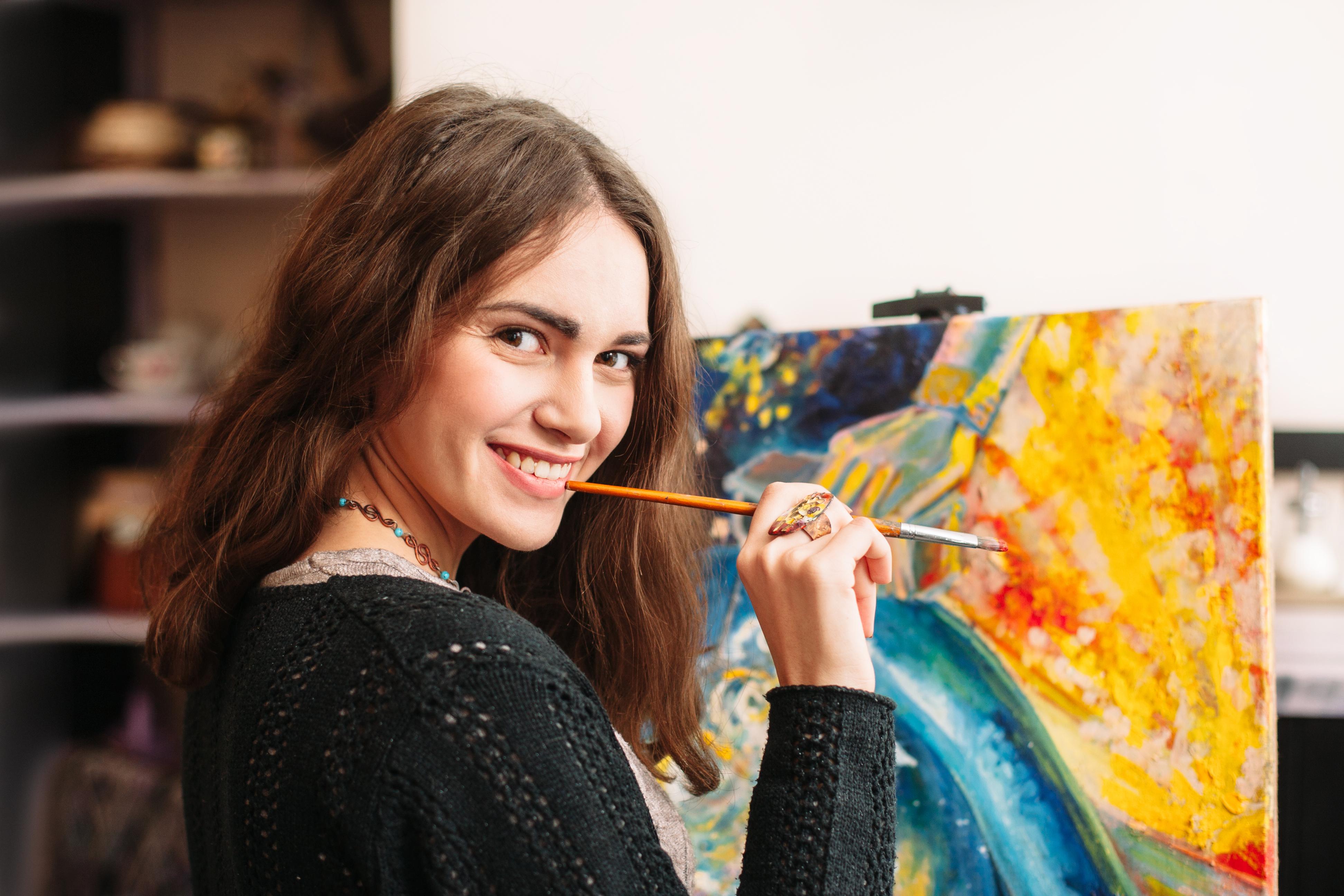 Cinq conseils pour peindre plus librement