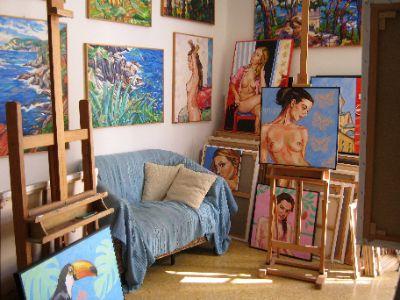 Le studio où l'atelier à la maison ?