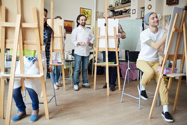 Pourquoi prendre des cours en dessin et peinture ?