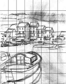 Le dessin préliminaire